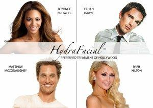 hydrafacial Hollywood stars procedure